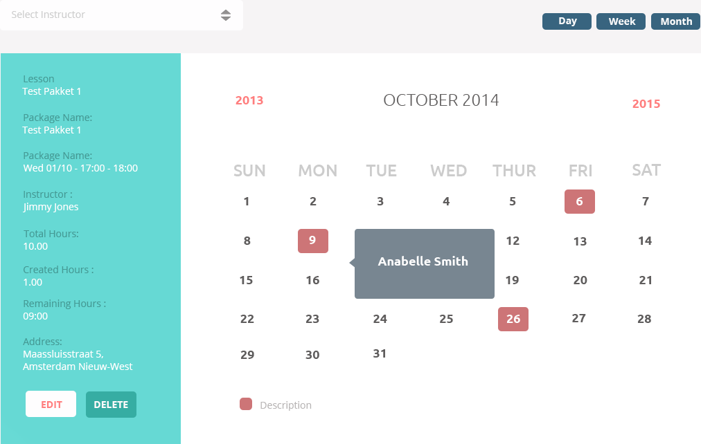 Docket software kalender